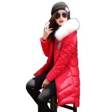 Новый женская зимняя куртка, воспитать в себе мораль долго Синтепон хлопка-ватник, тяжелые волосы привело женские пальто