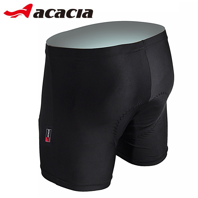 Acacia High Quality Pad Moto Shorts Cykelcykel Underkläder Silikon Gel 3D Padded Bike Short Pants Cykel Shorts 02912