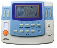 low frequency 9 channels multi physiotherapy therapy ultrasound tens ems machine with laser,heating ,e cup EA F29
