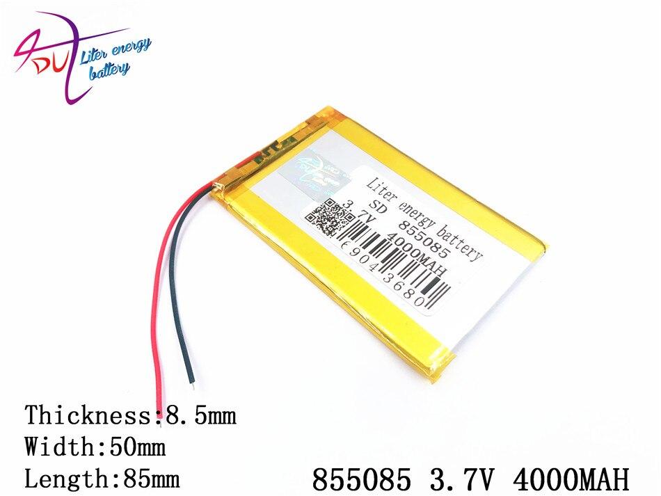 Pipo Handy Mit Einem LangjäHrigen Ruf Genossenschaft 3,7 V 4000 Mah 855085 Polymer Lithium-ion/li-ion Batterie Für Tablet Pc Power Bank Cube