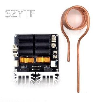 Bajo ZVS 12-48 V 20A 1000 W de baja tensión de calentamiento por inducción placa de inducción de alta frecuencia máquina de calefacción para