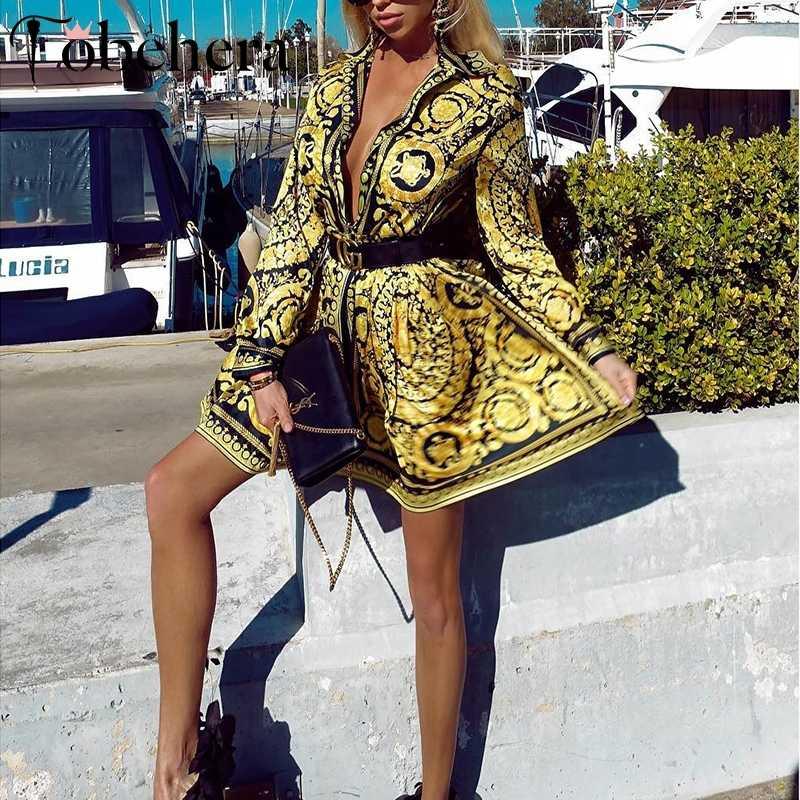 Glamaker セクシーなペイズリーヴィンテージプリンドレス女性の休日のドレス夏のエレガントなパーティークラブドレス大サイズローブ