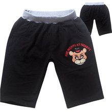 Five nights at freddy shorts kids cotton fnaf boys shorts children clothes summer girls shorts boys