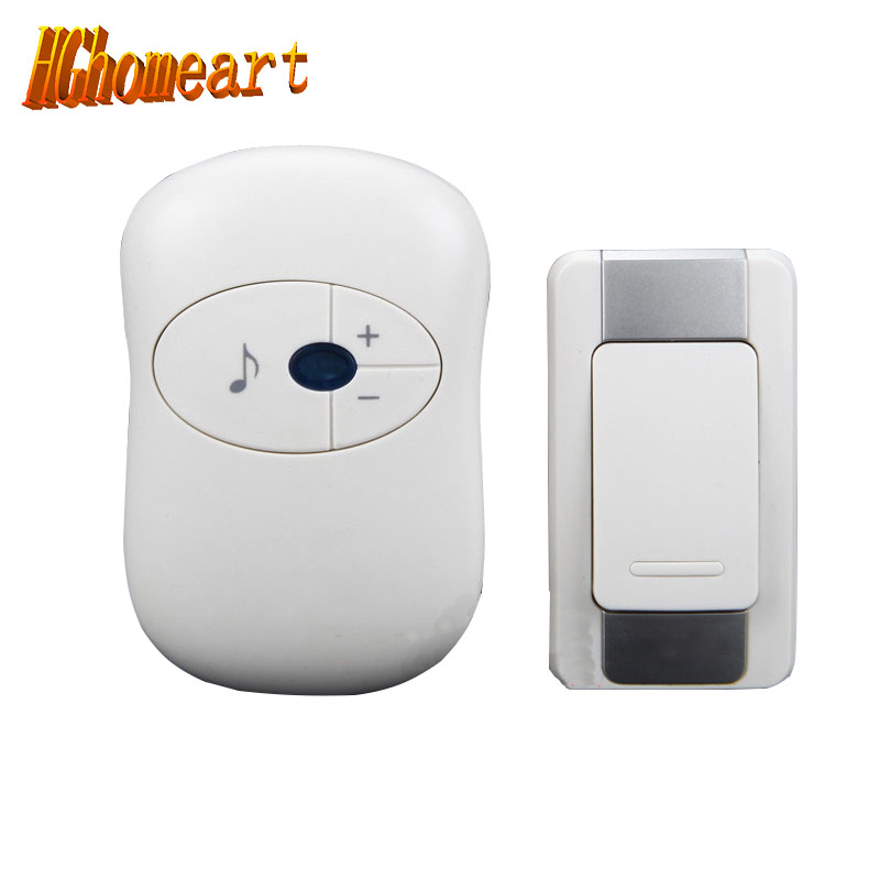 HGhomeart The doorbell wireless communication digital remote control doorbell wireless real household