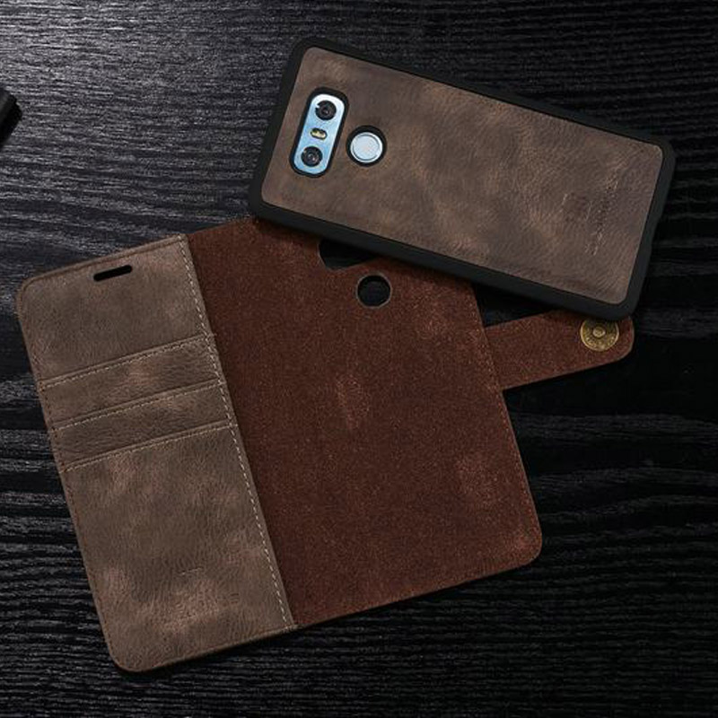 Case For LG G6 Case Luxury Leather 5.7 inch Protective Phone Case For LG G6 G 6 Phone Case Wallet Flip Stand With Card Holder