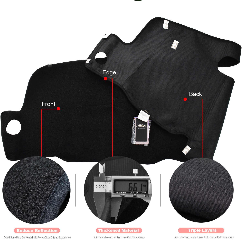Xukey приборная панель Крышка Даш коврик покрытие для приборной панели для Chevrolet S10 Блейзер Мини 1998 1999 2000-2004 приборная панель накладка коврик для защиты от солнца