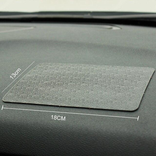 Voiture Ornement PVC Anti-Slip Mat Collant Pad Automobiles Intérieur Tableau de Bord Non Slip Mat Pour Téléphone Coin Sunglass Titulaire accessoires 5