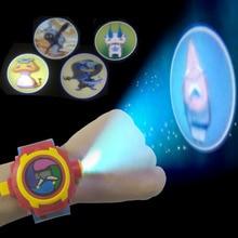 Japansk Anime DX Yo-Kai Armbandsur Barn Leksak Födelsedagspresent Yo Kai Projektionsprojekt 24 Siffror Elektronisk Klocka