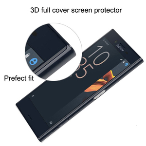 Image 2 - สำหรับ Sony Xperia X XA XA1 XA2 Ultra XZ XZS XZ1 XZ2 XZ3 C6 Premium 9H 3D โค้งเต็มรูปแบบฝาครอบกระจกนิรภัยฟิล์ม Protector