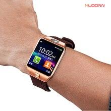 Original DZ09 Bluetooth smart watch SIM/TF Card For Ios Android Phones with camera facebook Pedometer men women sport wristwatch