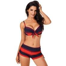цены на 2019 Women's Swimming Suit  Bikini Swimsuits Swim Wear Bathing With Bra Low waist Sports Wear bathing suits  в интернет-магазинах
