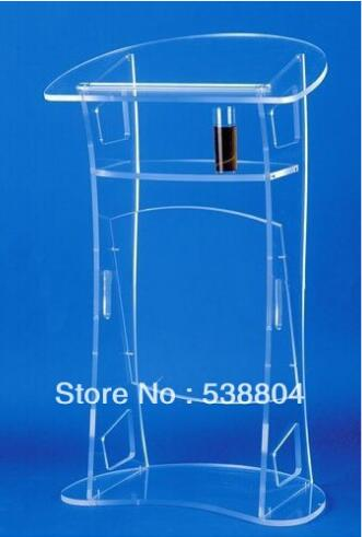 Free Shipping Acrylic Desktop Lectern Cheap Acrylic Lectern Free Shipping Plexiglass School Podium Perspex Pulpit Clear Rostrum