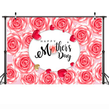 Mehofoto Happy Mother's Day Party Backdrops Photography Flowers Background Photographic for Mother Props for Photo Shoot mehofoto happy mother s day party backdrops photography flowers background photographic for mother props for photo shoot