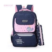 Beauty Printing Packs for Schoolbag Girls Shoulder Strap Pack Sweet Cute Cartoon Children Backpack Kids Bookbag Mochila Infantil