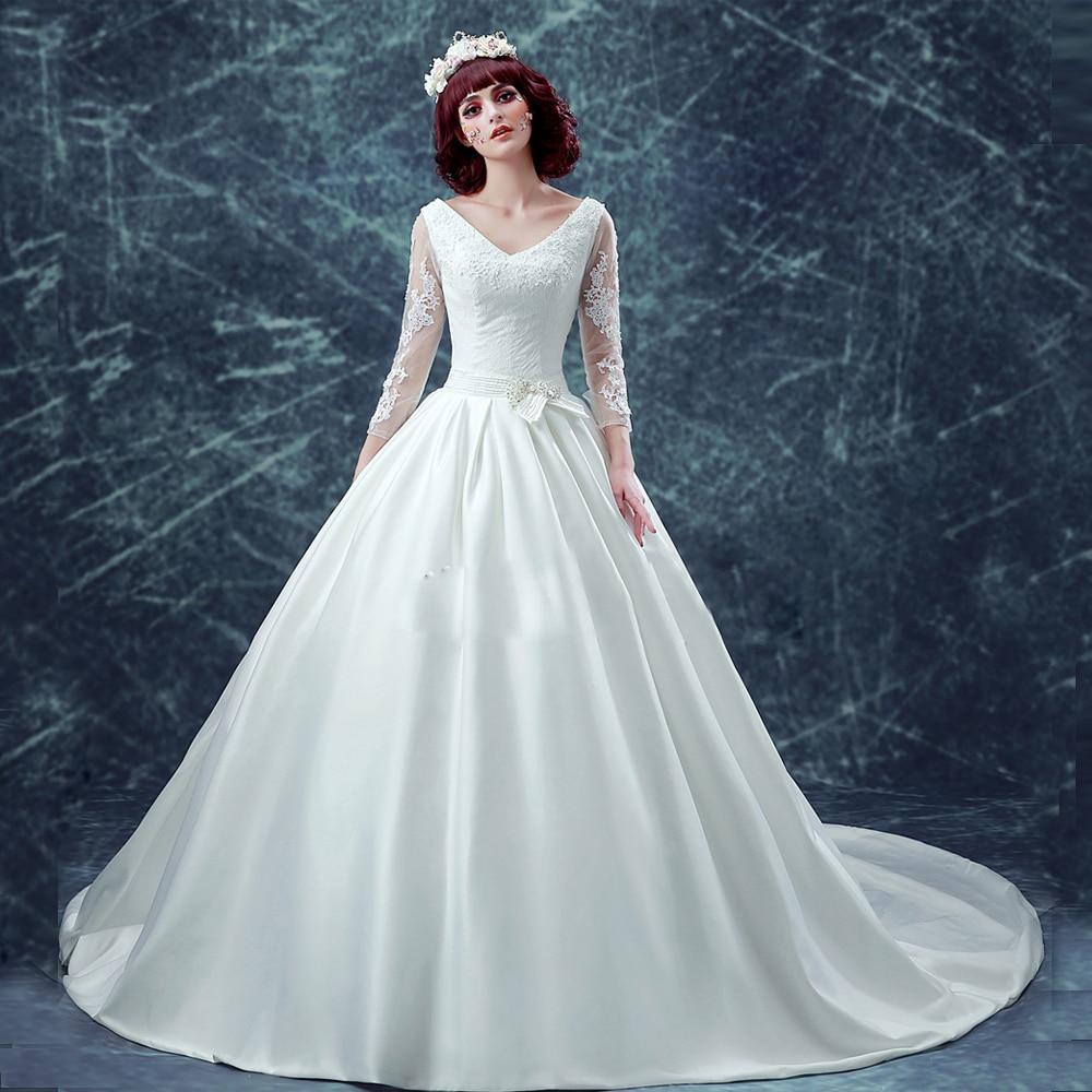 new lace mermaid wedding dresses 2016 romantic Princess crystal belt ...