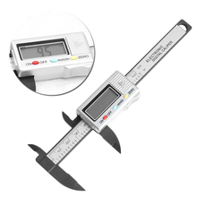 Buy online 100mm 4inch LCD Digital Electronic Carbon Fiber Vernier Caliper Gauge Micrometer     -W128