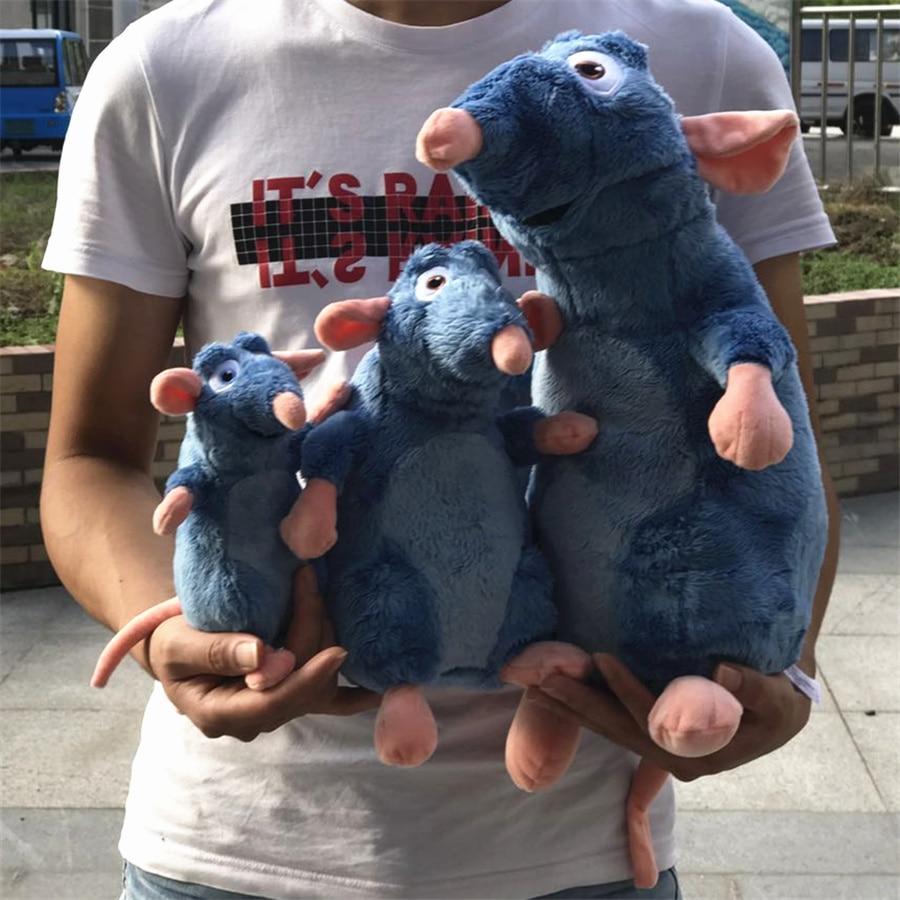 1 шт. Рататуй Реми Мыши Плюшевые игрушки Мягкая Животные дети Игрушечные лошадки для детей Подарки