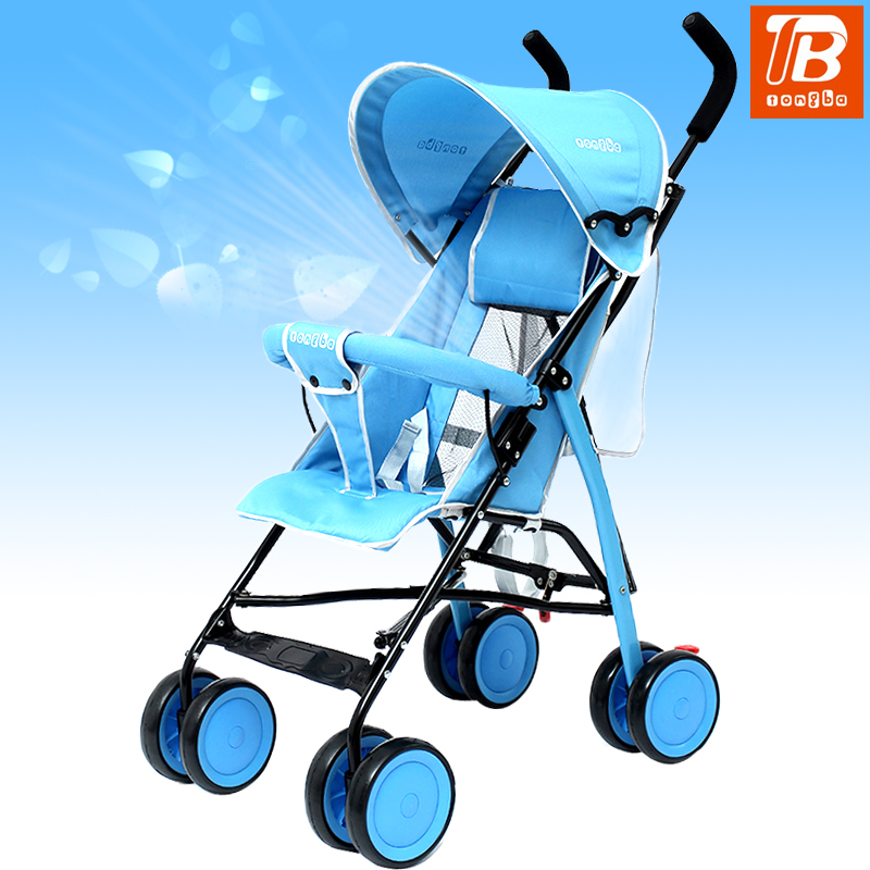 Children the baby cart can sit can lie on the portable folding umbrella car lightweight portable baby baby carriage pram dsland umbrella nine kinds of color of children s cart umbrella can choose new design hot selling on sale