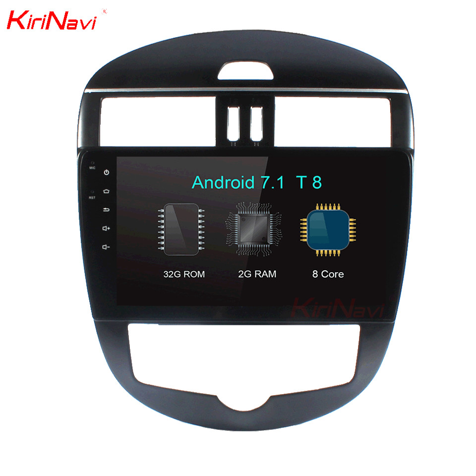 KiriNavi 10 2 Octa Core Android 7 1 Car Audio For Nissan Tiida GPS Radio Stereo