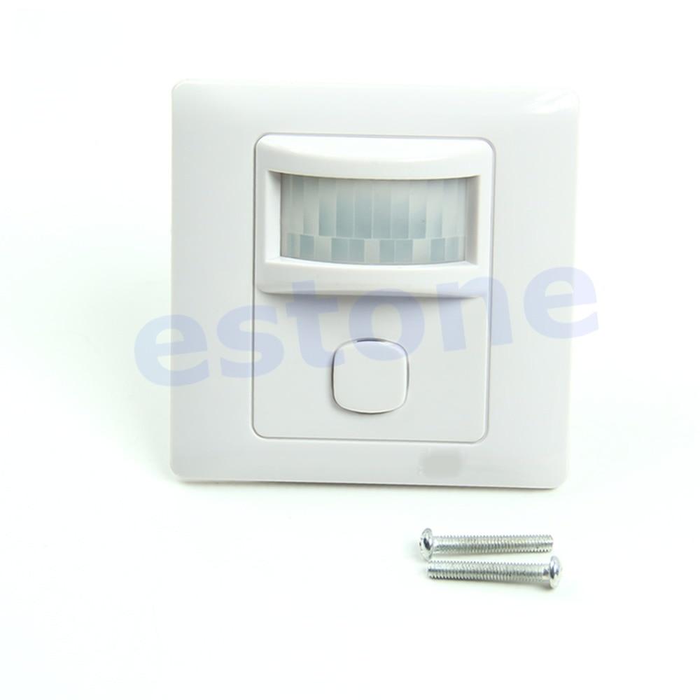 IR Infrared Motion Sensor Automatic Light Lamp Switch 200V-250V AC New-Y103 l806 infrared sensor light black