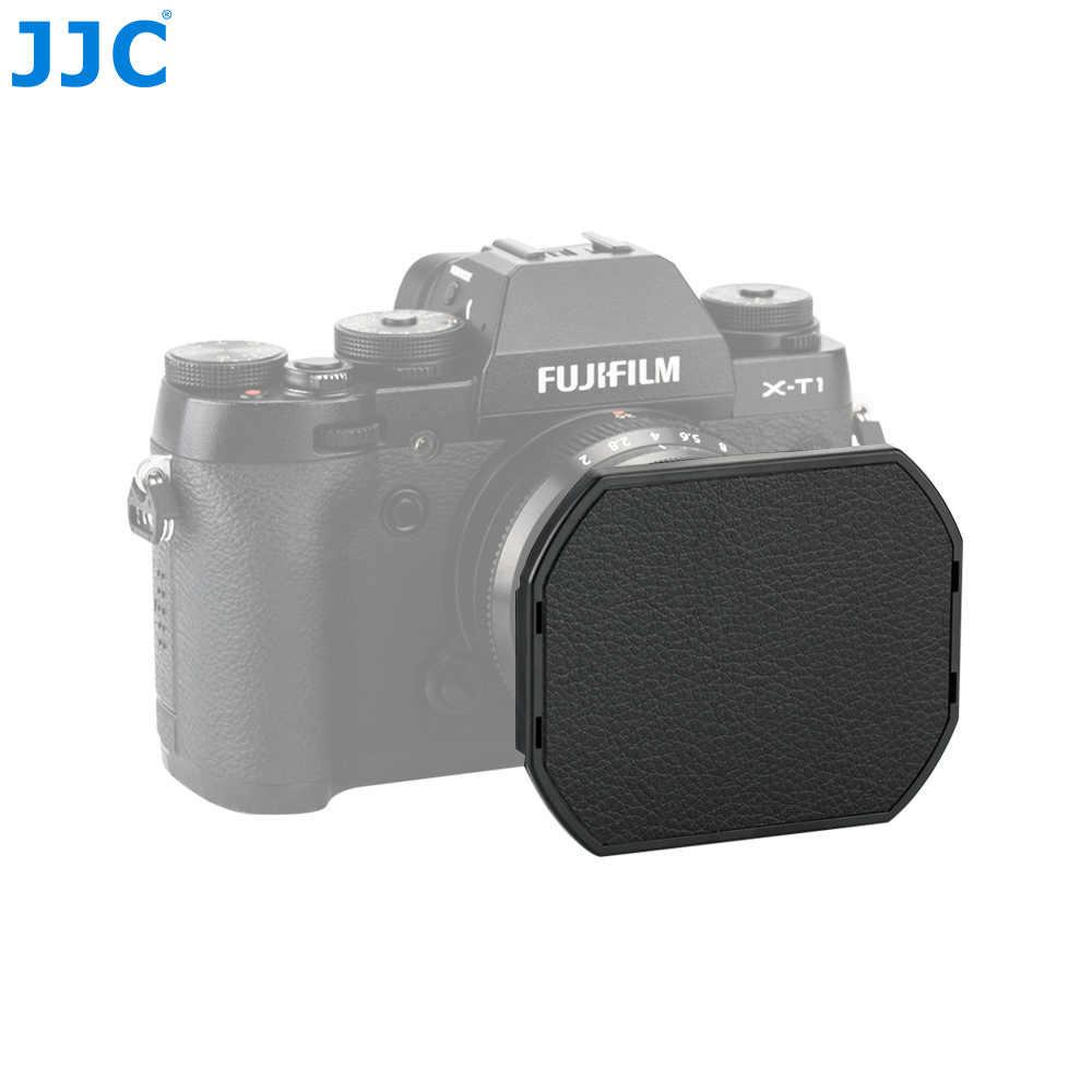 Камера JJC байонет квадратныая металлическая 43 мм Кепки бленда объектива для FUJINON XF35mm/25 мм F2 R WR линзы заменяет LH-XF35-2