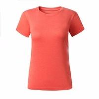 Women Sport Outdoor Running Slim Quick Dry T-Shirt Short Sleeve Crew Neck Tee new brand