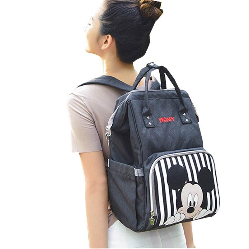 Diaper Bag Backpack Stroller Bag Baby Bottle Warmer Waterproof Travel Mummy Backpack baby bags for mom цена 2017