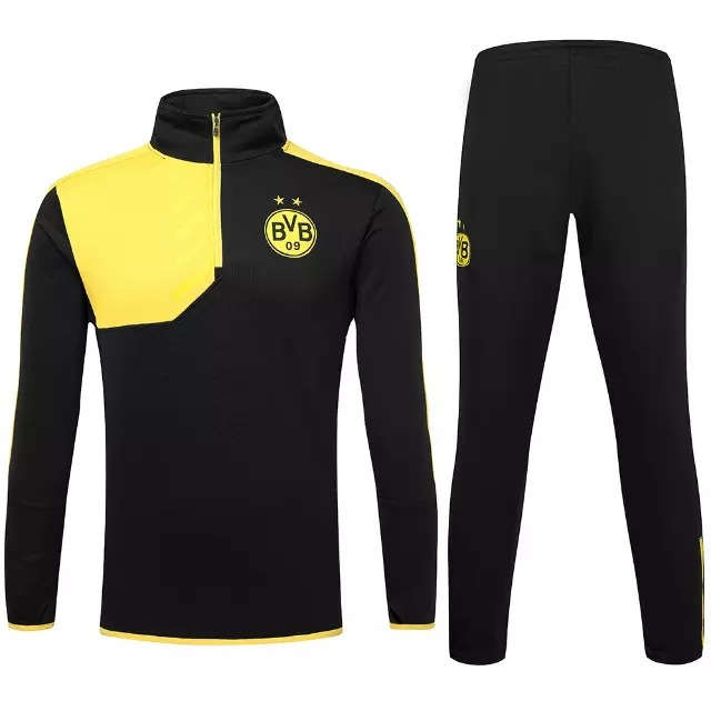 06bfb5c2f24a9 New 15-16 survetement football Borussia Dortmund tracksuits chandal  Borussia Dortmund training jackets pants sweatshirts sweater