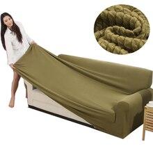 Svetanya Gestrickte Baumwolle Sofa Abdeckung Hussen all-inclusive Couch Fall für verschiedene Form Sofa Hohes Quanlity Einfarbig