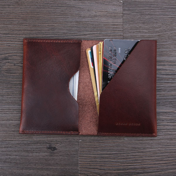 top grain italian leather card holder wholesale and retail with gift package - Gift Card Holders Wholesale