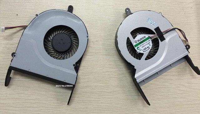 Новый Охлаждающий Вентилятор CPU для ASUS N551J N551JW N551JK ноутбук CPU fan P/N MF75090V1-C330-S9A