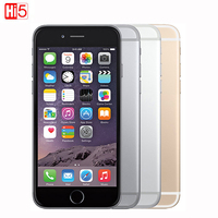 Original Unlocked Apple IPhone 6 4 7 Inch Mobile Phone Dual Core 16G 64GB 128GB ROM