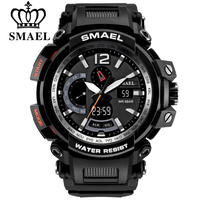 VIP Exclusive Link SMAEL Top Brand Luxury Men Digital LED Military Analog Watches Outdoor Sport