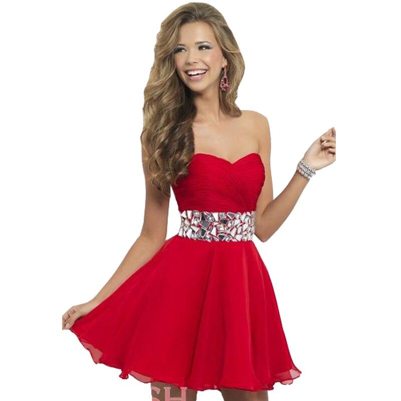 Red Semi Formal Dresses - Dress Xy