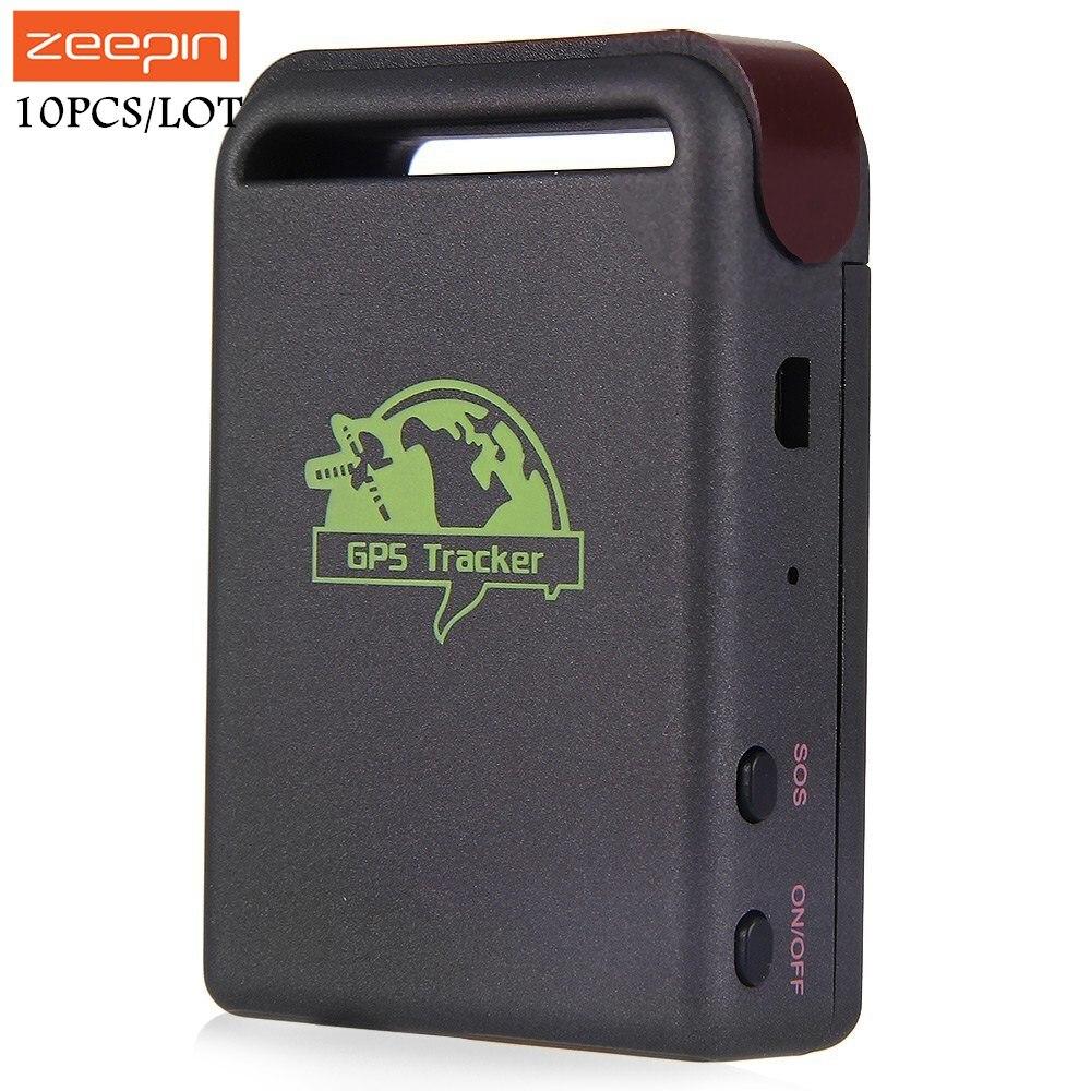 10 шт./лот TK102B автомобиля gps трекер Поддержка GSM GPRS с SOS выше Скорость сигнализации транспортного средства отслеживания Locator