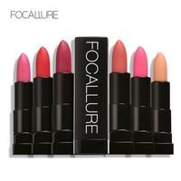 FOCALLURE Matte Lip Stick Moisturize lipstick Sexy Beauty Not Fade lips Makeup Cosmetics Waterproof