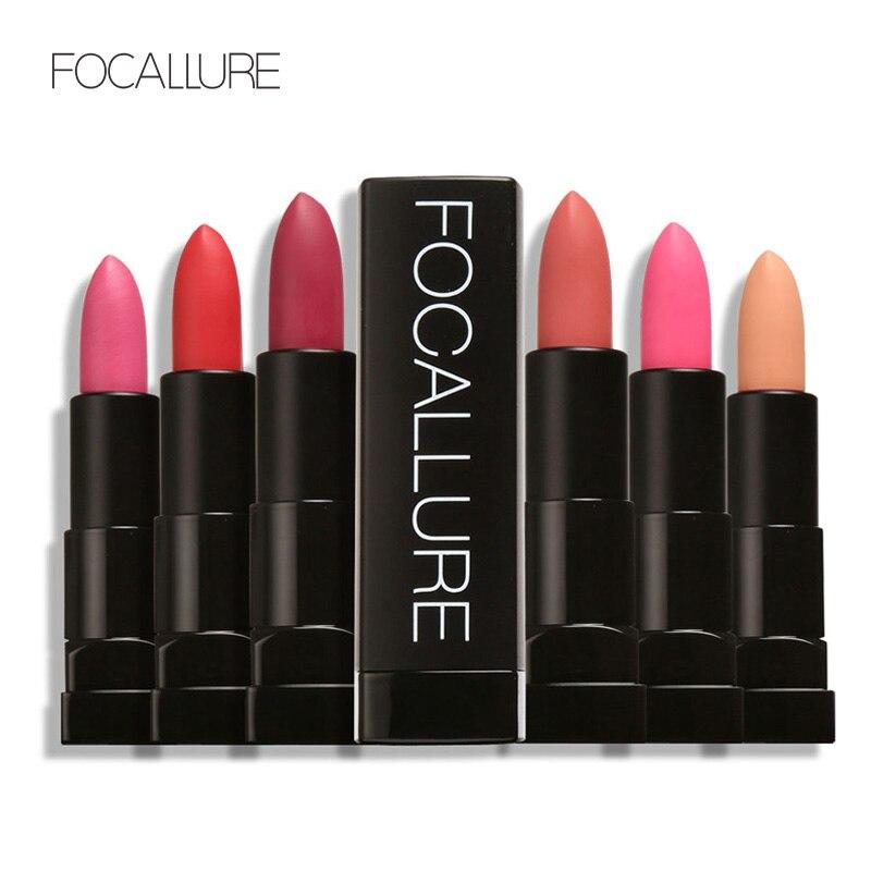 FOCALLURE mat Stick à lèvres hydrater rouge à lèvres Sexy beauté pas se faner lèvres maquillage cosmétiques étanche