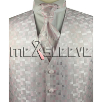 hot sale free shipping light pink Men's waistcoat