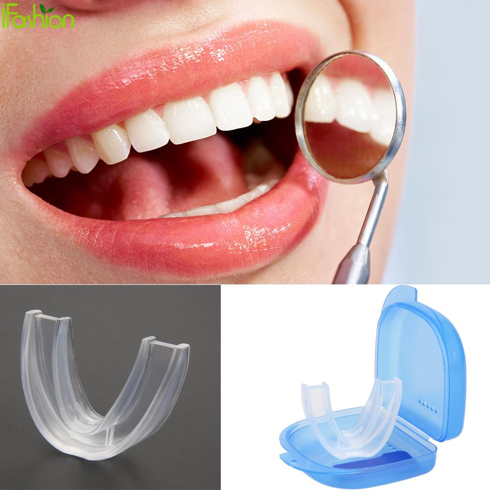 Silicone Mouth Guard For Teeth Grinding Anti Snoring Sleep Mouth Guard Teeth Protector For Night Sleep Use Stop Snoring Solution