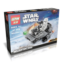 LEPIN 05012 Star Wars Frist Order Snow Runaway Fighters Minifigures Building Block Minifigure Compatible with Legoe 75126 Toys