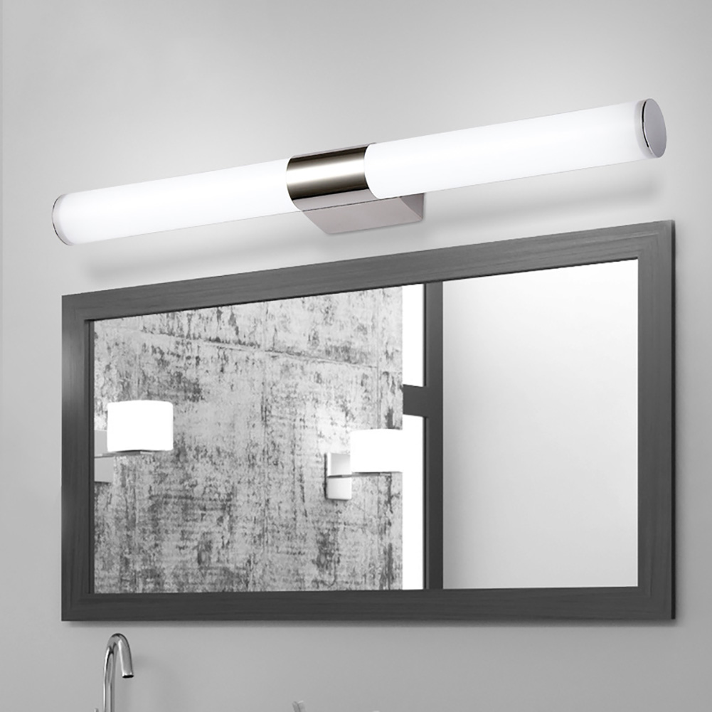 Nice Hot Selling 10W/14W LED Bathroom Mirror Wall Lamp Stainless Steel Cold/Warm  Aluminum Wall Mounted Bathroom Wall Light Fixtures