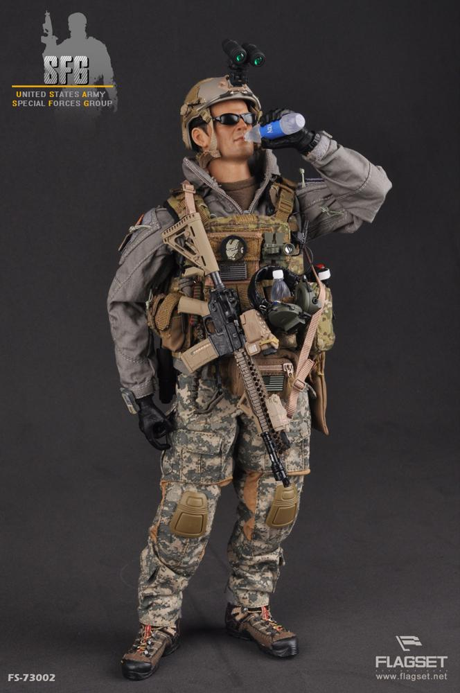 купить 1/6 scale doll model U.S. ARMY SFG Military figure model Special Forces soldiers.12