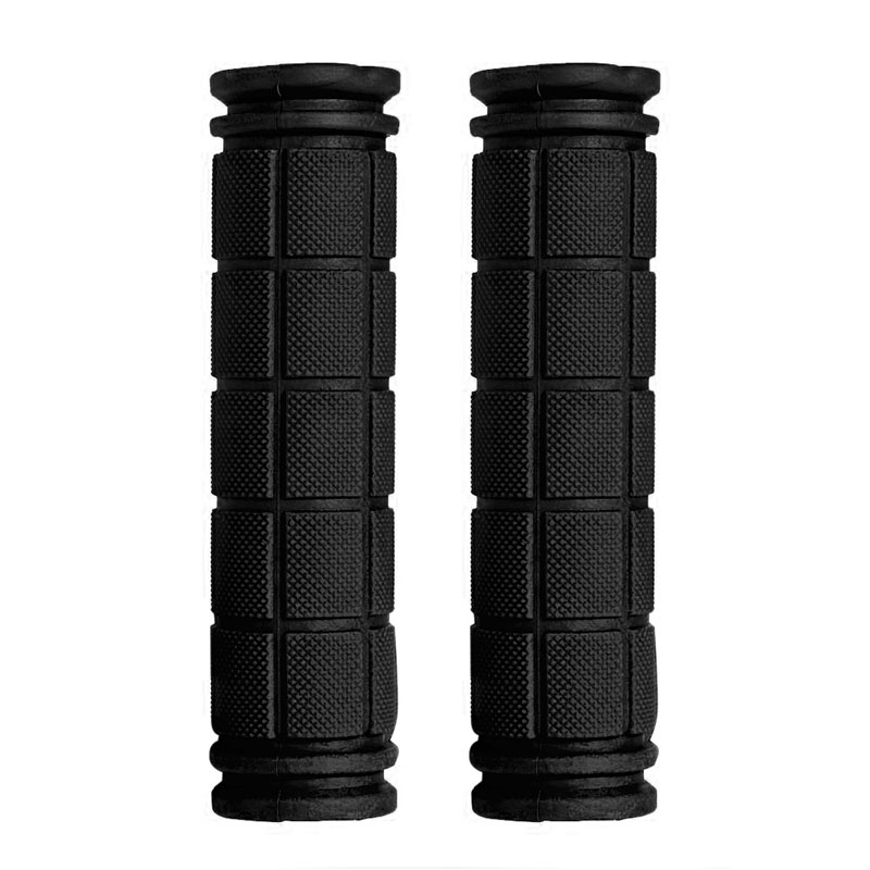 Soft durable <font><b>Rubber</b></font> <font><b>Bike</b></font> Handle <font><b>Bar</b></font> <font><b>End</b></font> Grip non-slip BMX MTB Cycling Mountain Bicycle Scooter grip image