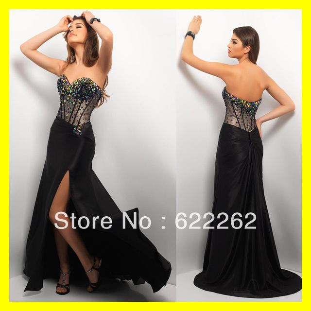 Short Prom Dresses Discounted Evening Gown Black Stunning A Line ...
