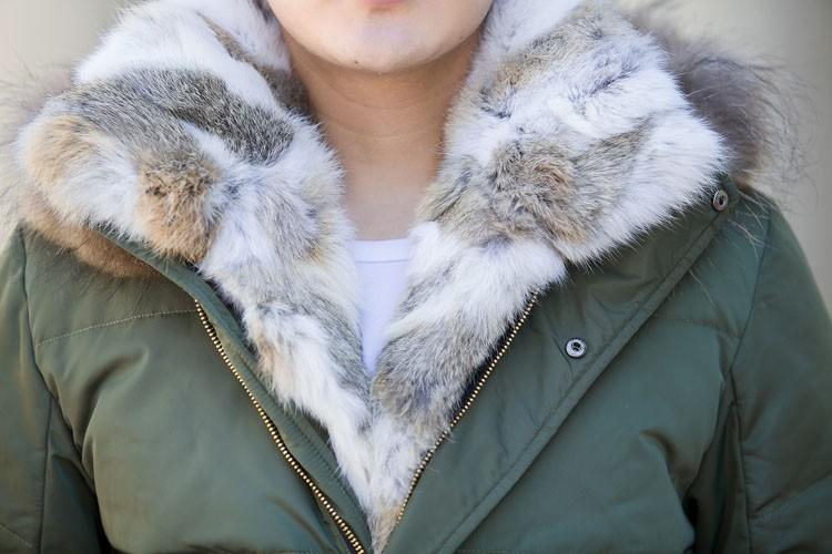 Winter Down Jacket Men Fur Parka Fashion Casual Thicken Warm Fur collar Hooded Men Women jacket&coat couple Down Jacket S-5XL (5)