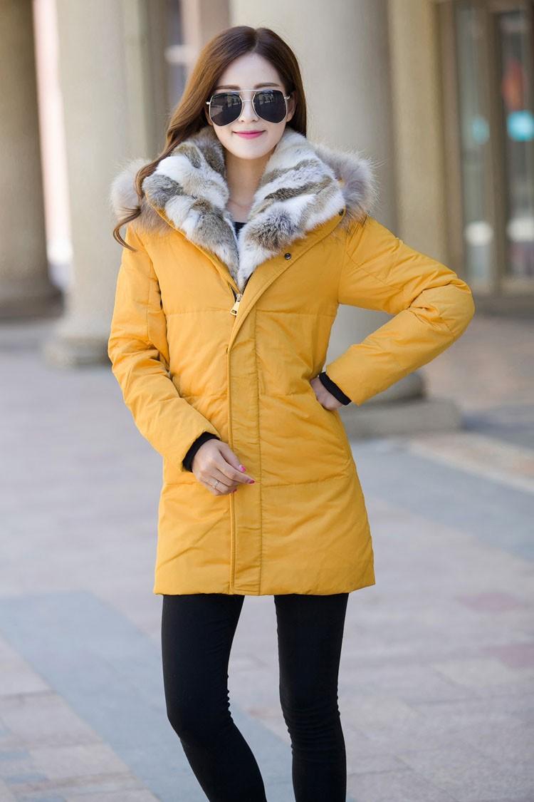 Winter Down Jacket Men Fur Parka Fashion Casual Thicken Warm Fur collar Hooded Men Women jacket&coat couple Down Jacket S-5XL (12)