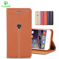 1pcs Lot Retail Black Luxury Genuine Leather Case For Iphone 6 4 7 Original XD Nobility