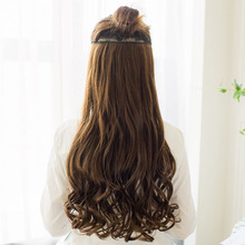 Synthetic Long Wavy Hair Extensions