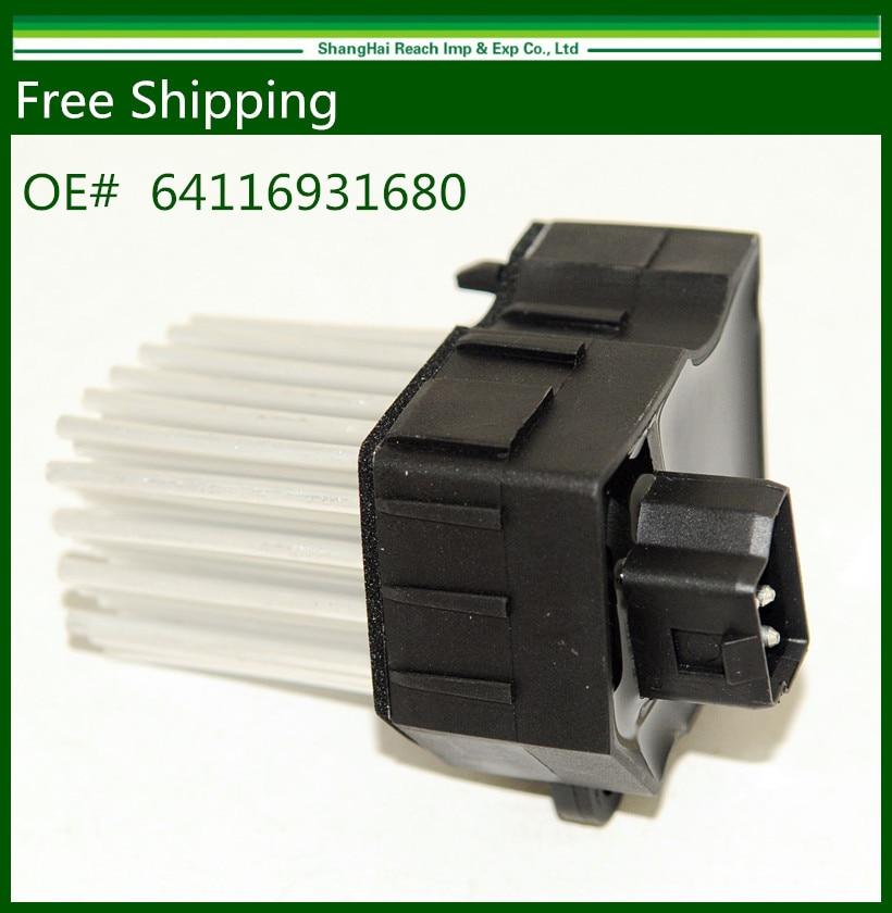 Final Stage E39 E46 Heater Blower Motor Resistor for BMW E46 E39 X5 X3 OE 64116923204