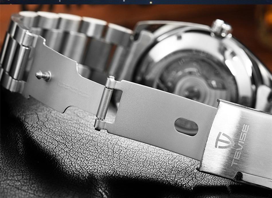 HTB1DLghd.D.BuNjt h7q6yNDVXal Tevise Luxury Waterproof Automatic Men Mechanical Watch Auto Date Full Steel Business Top Brand Man Watches Water Resistant T801